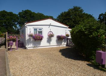 Thumbnail 2 bed mobile/park home for sale in Silent Woman Park, Coldharbour, Wareham
