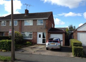 Thumbnail 3 bed semi-detached house to rent in Brooke Drive, Brimington
