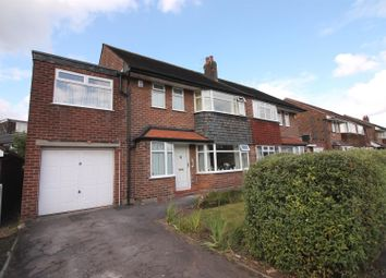 Thumbnail 4 bedroom semi-detached house for sale in Eddisbury Avenue, Urmston, Manchester