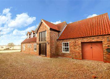 Thumbnail 4 bed detached house for sale in Warren Farm Close, East Halton, North Lincolnshire