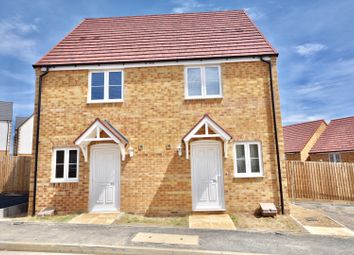 Thumbnail 2 bed semi-detached house for sale in Roman Road, Little Stanion, Corby