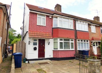 Thumbnail 4 bed end terrace house to rent in Selborne Gardens, Perivale, Middlesex