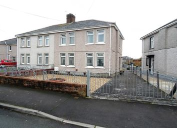 Thumbnail 3 bed semi-detached house for sale in Lletai Avenue, Pencoed, Bridgend