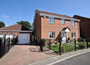 Thumbnail 4 bed detached house for sale in Lord Porter Avenue, Stainforth, Doncaster