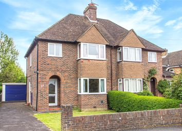 Thumbnail 3 bedroom semi-detached house for sale in Westlands Way, Oxted, Surrey