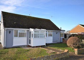 Leonard Road, Greatstone, New Romney TN28. 2 bed semi-detached bungalow for sale