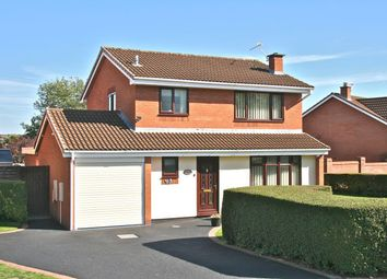 Thumbnail 4 bed detached house for sale in Mallard Close, Telford