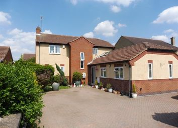 Thumbnail 5 bed detached house to rent in Stonald Road, Whittlesey, Peterborough