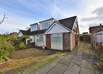 Thumbnail 3 bed semi-detached bungalow for sale in Rutland Avenue, Lowton, Warrington