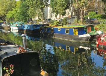 Thumbnail 1 bed houseboat for sale in Blomfield Road, London
