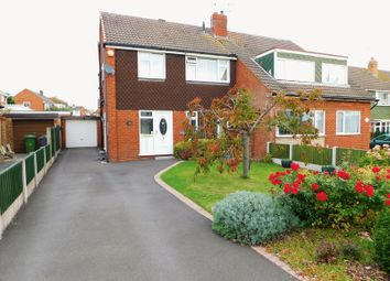 Thumbnail 3 bed semi-detached house for sale in Woodberry Close, Stafford