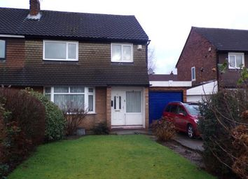 Thumbnail 3 bed semi-detached house for sale in Cross Knowle View, Urmston, Manchester