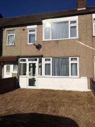 Thumbnail 3 bed terraced house for sale in Gainsborough Road, Rainham, London
