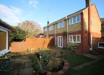 Thumbnail 3 bed semi-detached house to rent in Kingsley Road, Eversley, Hook