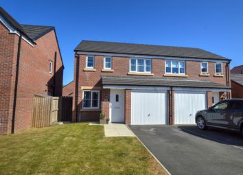 Thumbnail 3 bed property for sale in Shillhope Drive, Blyth