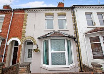 Thumbnail 3 bed terraced house for sale in Cromwell Road, Rushden, Northants