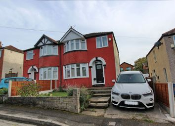 Thumbnail 3 bed semi-detached house for sale in Kingsley Avenue, Whitefield, Manchester