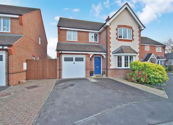Thumbnail 4 bed detached house for sale in Lesparre Close, Drayton, Abingdon