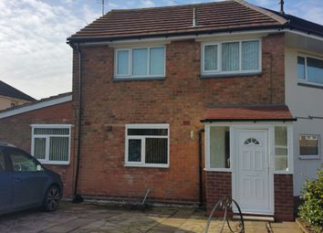 Thumbnail 3 bedroom terraced house to rent in Wychwood Crescent, Birmingham