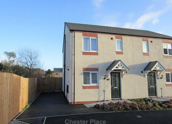 Thumbnail 3 bedroom semi-detached house to rent in Pine Way, Penyffordd, Chester