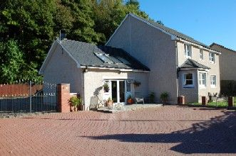 Thumbnail 4 bedroom detached house for sale in Balmoral Road, Blairgowrie