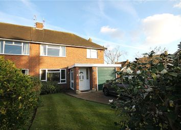 Thumbnail 3 bed semi-detached house for sale in Furzewood, Lower Sunbury, Surrey