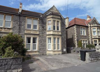 Thumbnail 1 bed flat to rent in Charlton Road, Weston-Super-Mare