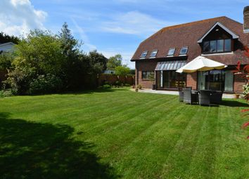 Thumbnail 5 bed detached house for sale in Knights Bank Road, Hill Head, Fareham