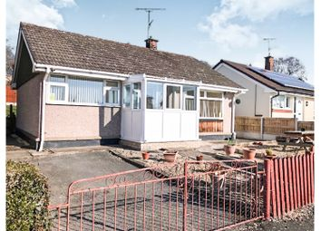 Thumbnail 2 bed detached bungalow for sale in Cae Bedw, Wrexham