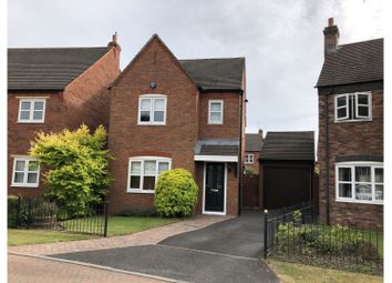 Thumbnail 3 bed detached house for sale in Mitchell Close, Lichfield