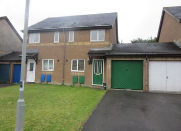 Thumbnail 2 bedroom semi-detached house to rent in Broad Haven Close, Penplas, Swansea.