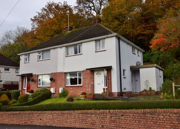 Thumbnail 3 bed semi-detached house for sale in Graig View, Machen, Caerphilly