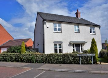 Thumbnail 4 bed detached house for sale in Horseshoe Close, Ibstock