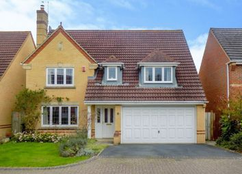 Thumbnail 4 bed detached house for sale in Upton Close, Swindon