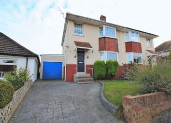 Thumbnail 3 bed semi-detached house for sale in Bromley Road, Southampton