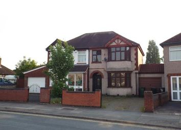 Thumbnail 3 bedroom semi-detached house for sale in Cheveral Avenue, Radford, Coventry, West Midlands