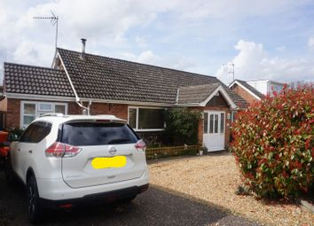 Thumbnail 4 bed detached bungalow for sale in Warren Close, King's Lynn