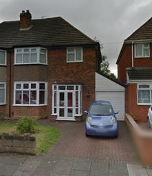 Thumbnail 3 bed semi-detached house to rent in Twycross Grove, Hodgehill, Birmingham