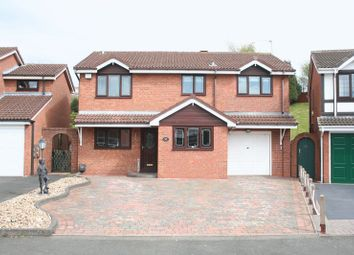 Thumbnail 4 bed detached house for sale in Ploverdale Crescent, Kingswinford