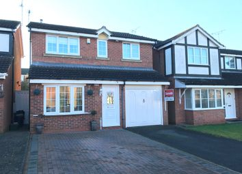 Thumbnail 3 bedroom detached house for sale in Needham Close, Oadby, Leicester