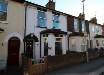Thumbnail 2 bed terraced house for sale in Western Road, Aldershot
