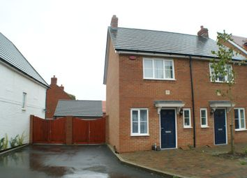 Thumbnail 2 bed terraced house to rent in Poppy Mead, Bridgefield