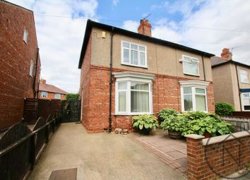 Thumbnail 2 bed semi-detached house for sale in Davison Road, Harrowgate Hill, Darlington