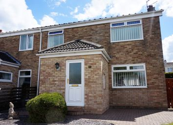 Thumbnail 3 bedroom semi-detached house for sale in Dinting Close, Peterlee