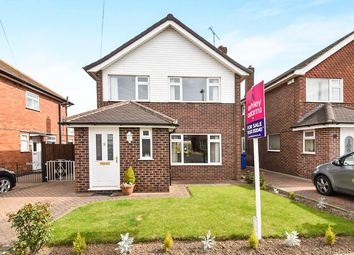 Thumbnail 3 bedroom detached house for sale in Hillcreste Drive, Chellaston, Derby