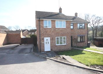 Thumbnail 3 bed semi-detached house to rent in Chestnut Drive, Ashbourne, Derbyshire