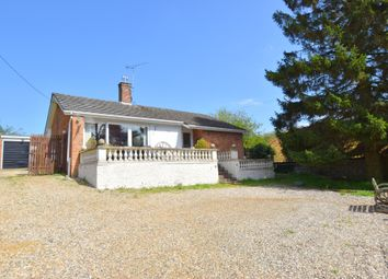 Thumbnail 3 bed detached bungalow for sale in Chapel Road, Roughton, Norwich