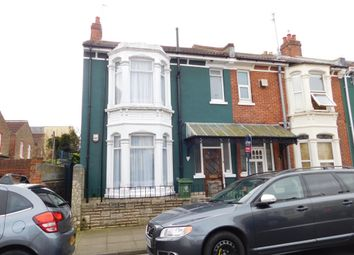 Thumbnail 4 bedroom end terrace house for sale in Aston Road, Southsea