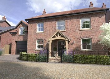 Thumbnail 5 bed detached house for sale in Hungate Lane, Bishop Monkton, North Yorkshire