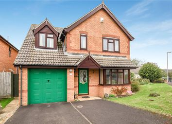Thumbnail 4 bed detached house for sale in Hemlets Close, Bridport